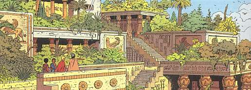 Orient - Les jardins de babylone ...